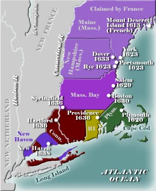 Early New England Map 5